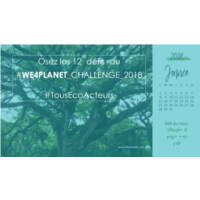 WE4PLANET CHALLENGE Janvier HOME