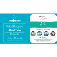 WE4PLANET soutenons ensemble le #FairFriday pour la biodiversité