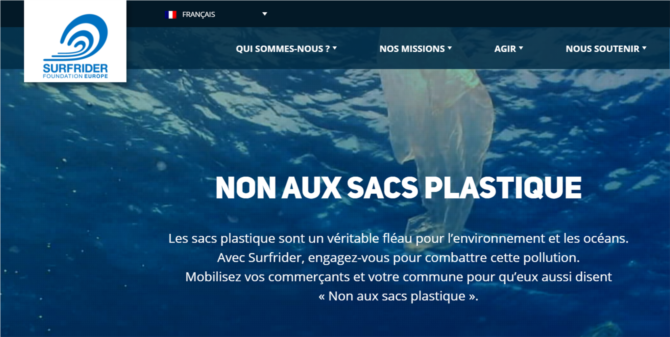 SURFRIDER - Non aux sacs plastiques