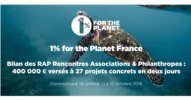 RAP 1% for the Planet 2018 - CP